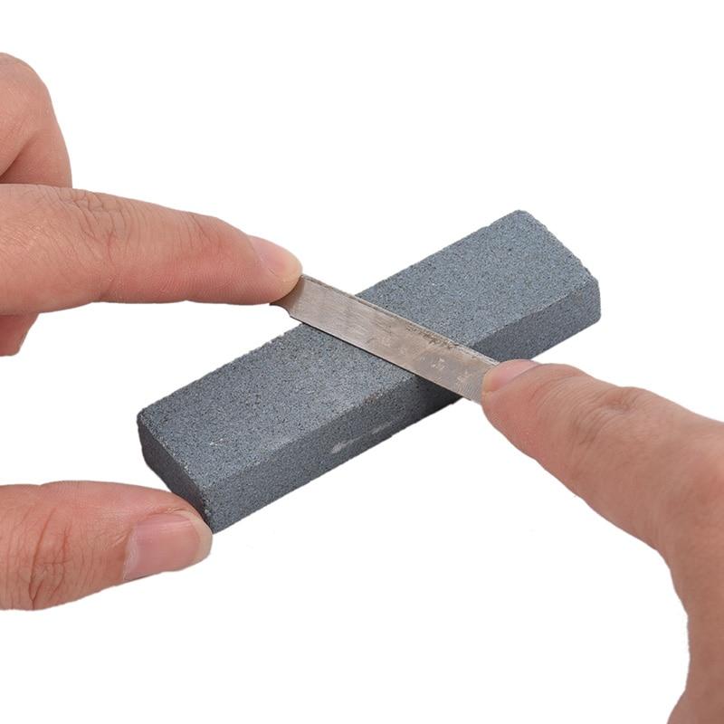 Outdoor Handle Knife Stone Pocket Camping Hiking Solid Knife Sharpener Knife Grinder Blade Sharpener Sharpening Knife Stone