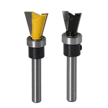 1/4 Inch X 5/8 1/2 Carbide Dovetail Joint Router Bit 10 Degree Woodworking Cutter With Bearing Wood Cutting To