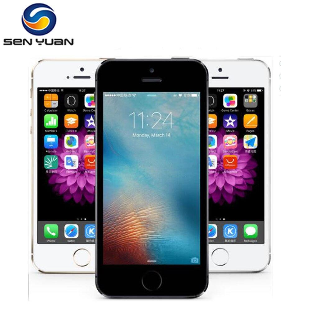 Original Unlocked Apple IPhone 5S 4G  LTE Mobile Phones Unlocked 4.0