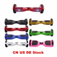 (CN GE US Warehouse)Cimiva 6.5 Inch Electric Self Balancing Scooter Two Wheels Hoverboard Unicycle Smart Skateboard