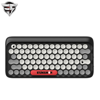 Lofree Dot Bluetooth Mechanical Keyboard Wireless Backlit Round Button For Ipad Iphone Macbook PC Computer Android