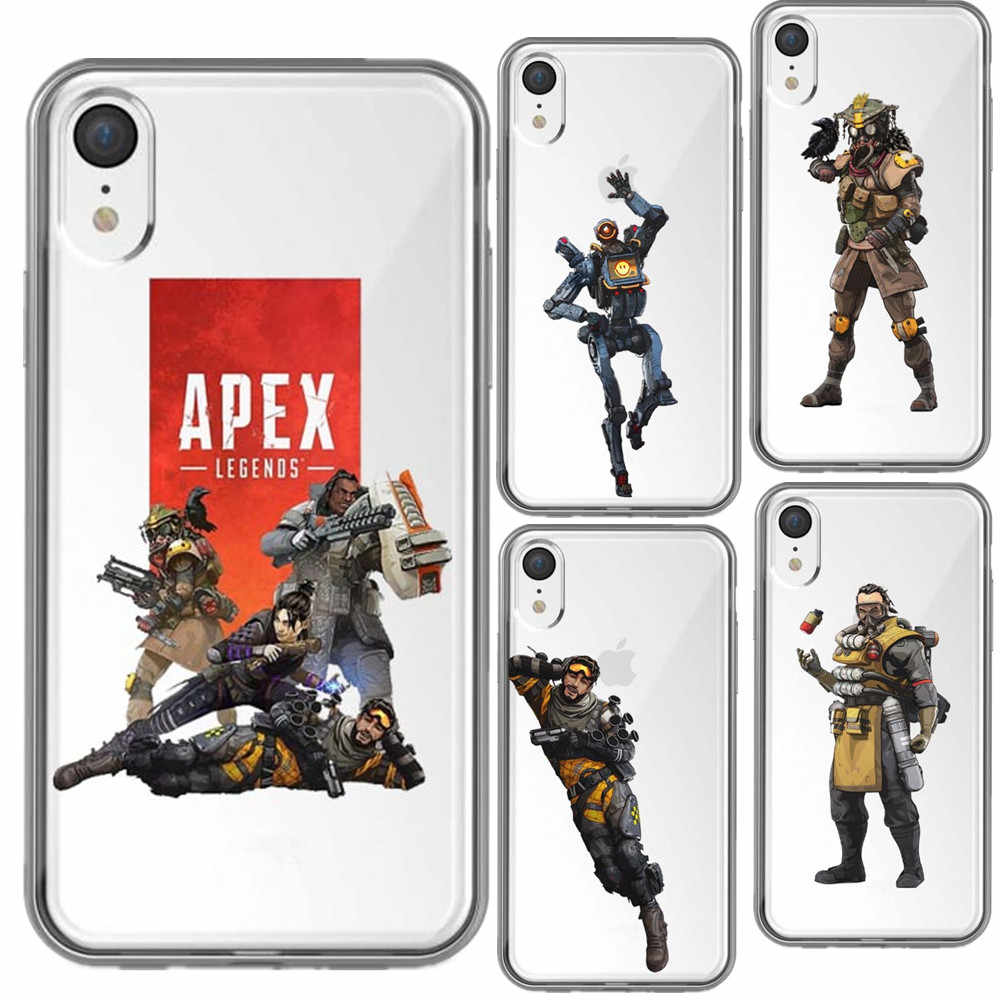 2bba8f8c9ca4 Apex Legends hot game Soft silicone TPU Back Cover Phone Cases For iPhone 5  5S SE