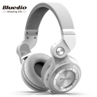 Bluedio T2S auriculares bluetooth 4.1 inalámbricos plegables con micrófono incorporado On-Ear