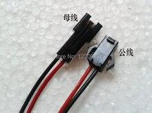 Anti-высокая teperature два основных женского и мужского разъем линия для светодиодный потолочный светильник и свет пятна СВЕТОДИОДНЫЕ ленты разъем Привести провода