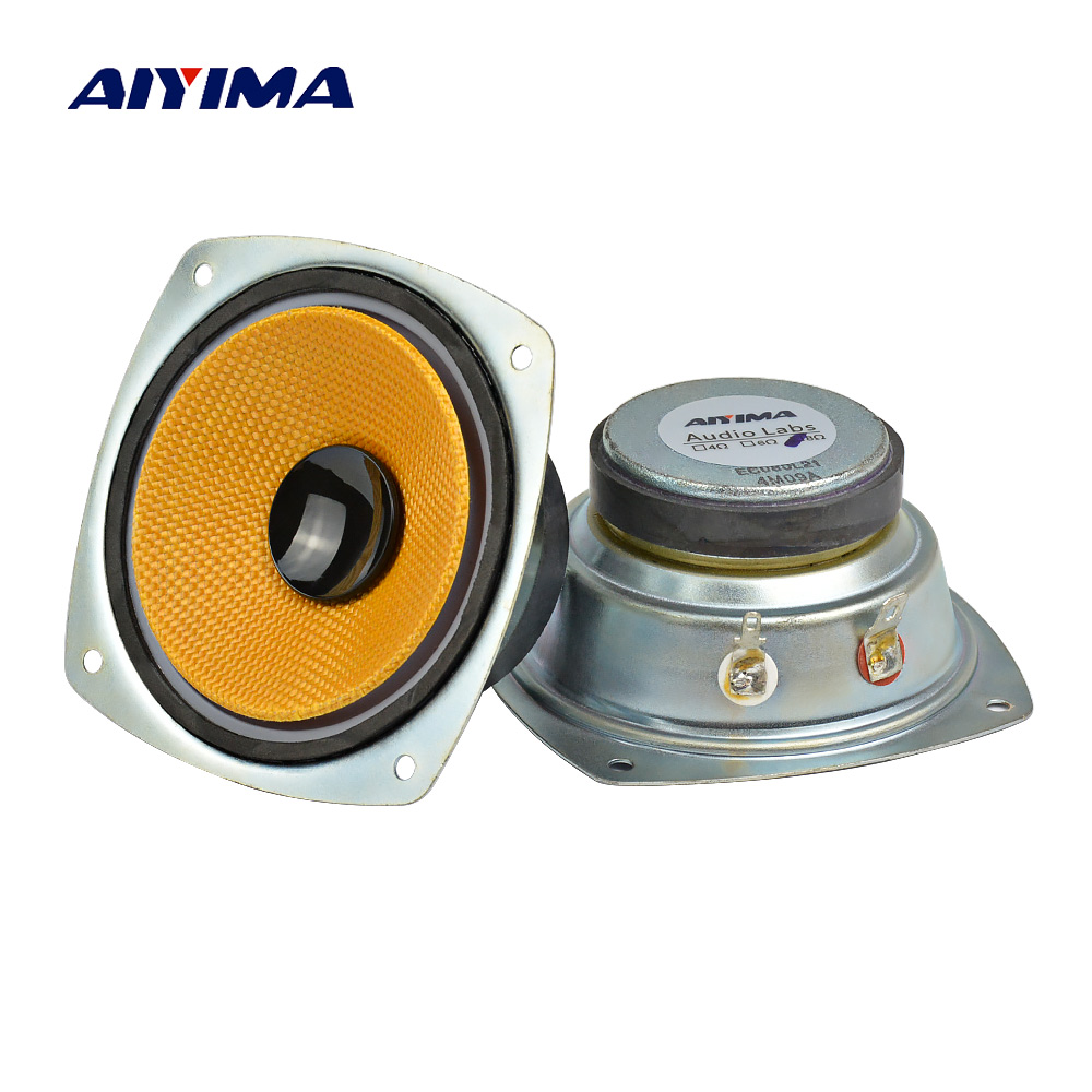 Buy Cheap Aiyima 2pcs 8 Ohm 30w For Lg 3inch Mid-range Car Speaker High-grade Braided Pots Home Theater Sound System Mid Loudspeaker Consumer Electronics Bookshelf Speakers