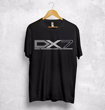 Yamaha DX7 camiseta Top música Digital Synthesizer friki Rap hip-hop Rock regalo personalizado impreso camiseta, camiseta divertida hip hop(China)