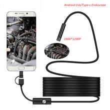 1200P External Hd Flexible Cable Inspection Usb Andriod Cameras Endoscope Camera For Android Phone(China)