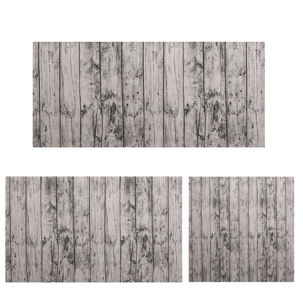 2017 Vintage European Stlye Table Cloth Linen Rectangular Table Cloth Wooden Grain Dustproof Bar Restaurant wedding