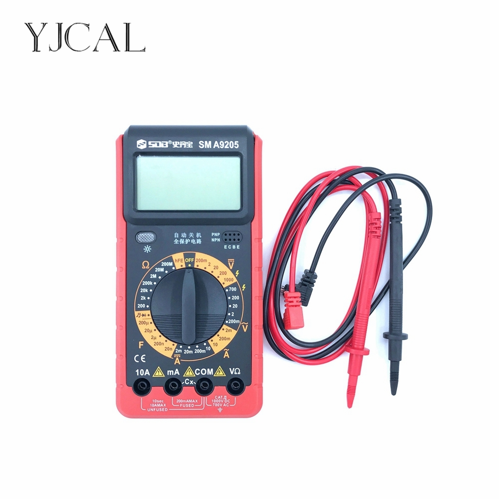 Digital Multimeter A9205 AC/DC Ammeter Capacitance Voltmeter Ohm Meter Diagnostic-tool Tester Electronic Measurement China