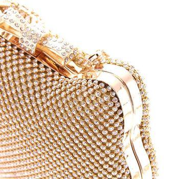 клатч золотой блеск | Модная Роскошная Серебряная вечерняя сумочка с бриллиантами, с головой кота, с золотым горным хрусталем, клатч с бантом, Кристальный кошеле...