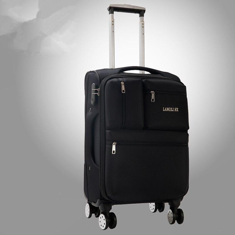 Оптовая продажа! 20 дюймов шелковая ткань Оксфорд универсальный ход колеса багажа для обувь для мужчин и женщин, классический и бизнес-тип ба...