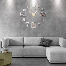 Фоторамка Saat настенные часы Horloge Reloj De Pared Duvar Saati Relogio De Parede Klok современный дизайн настенные часы 3d большие светящиеся