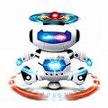 NOVA Moda Eletrônico Andando Dança Espaço Inteligente Robô Astronauta Crianças Brinquedos Luz Música Frete Grátis