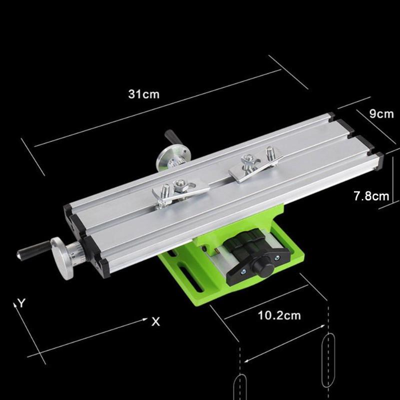 bancada fresadora assistida posicionamento ferramenta x y-eixo ajuste coordenar mesa torno