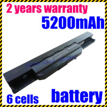 JIGU k53u New 6 cell Laptop Battery For Asus A53SK K53SJ X43SV A53SV K53SK X43TA A53TA K53T X43U A43 A53Z K53U A43B K43 X43