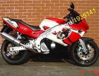 Hot Sales,For Yamaha Yzf600R Thundercat 1997 2007 YZF 600R 97 07 Yzf 600R Red White Black Sports Bike ABS Motorcycle Fairing Kit
