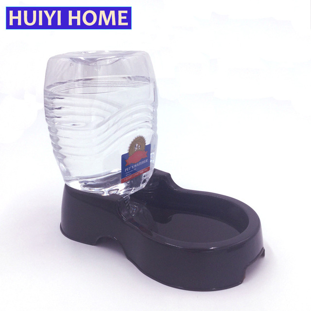 Huiyi Home Pet Dog Water Fountain 950ml Plastic Water Bowl Automatic Feeders For Cats Dogs Pets Supplies ENI023