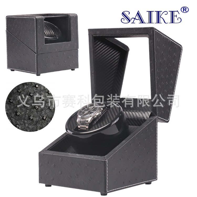 Automatic Mechanical Watch Winding Box Motor Shaker Watch Winder Holder Display Jewelry Storage Organizer Watches Box Turntable