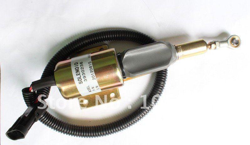 shut down solenoid 3930236 SA-4348-24(3pcs a lot)+fast free shipping by FEDEX/DHL fuel shutdown solenoid valve 3932529 sa 4756 12 for engine 4b 6b 3pcs a lot fast free shipping by fedex dhl