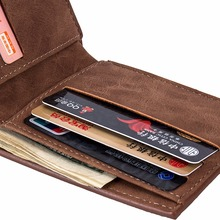 Pu Leather Wallet For Men Top Vintage Design