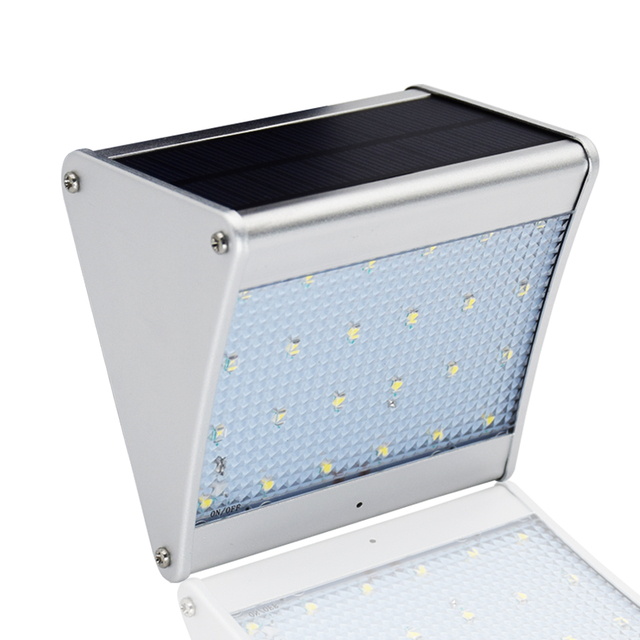 Garden 24 led wireless solar porch light with microwave radar motion garden 24 led wireless solar porch light with microwave radar motion sensor for outdoor energy saving aloadofball Image collections