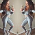 Mulheres 2 pcs Treino Hoodies Suam Camisola Conjuntos de Calças Desgaste Do Esporte Terno Ocasional