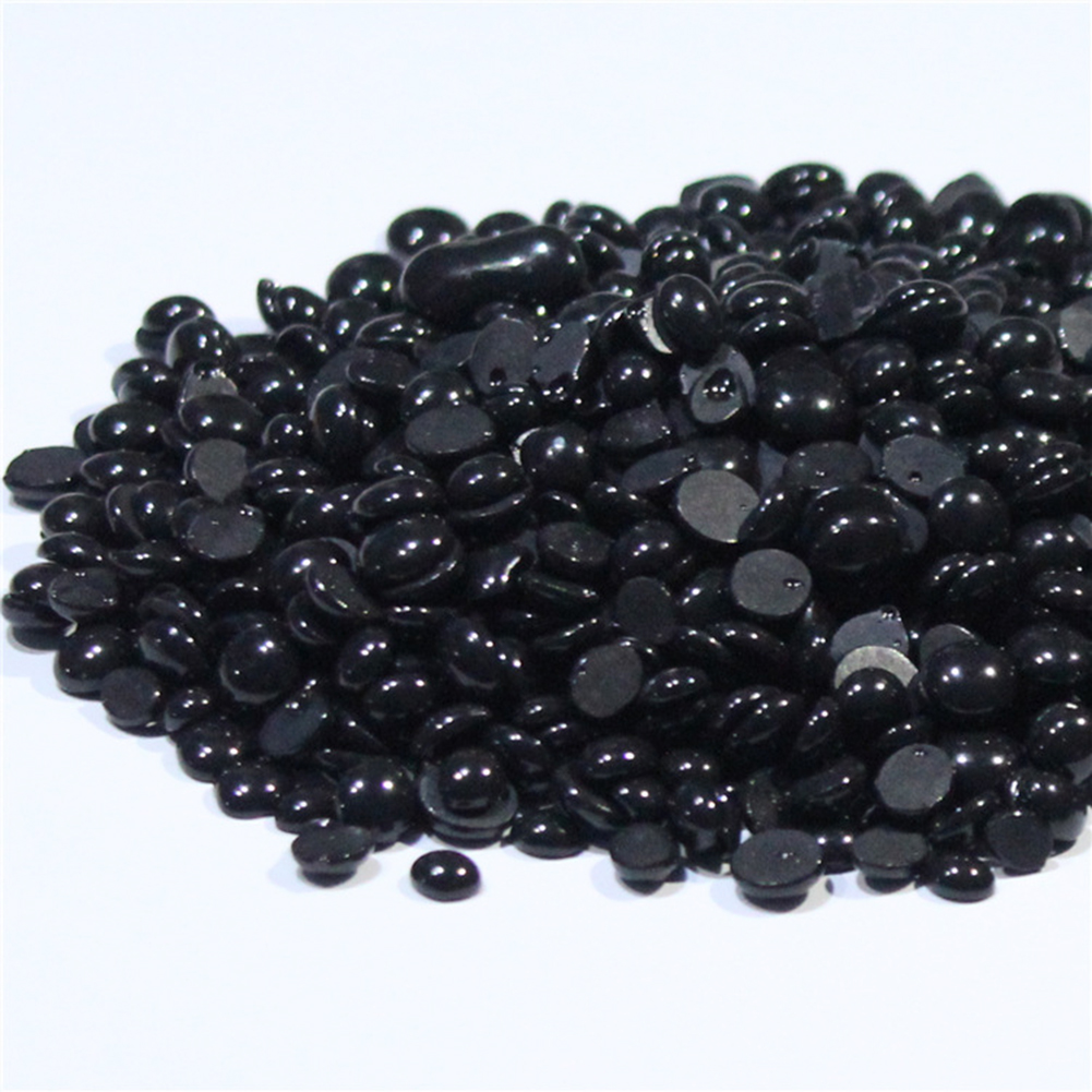 Black Depilatory Brazilian Wax Pellet Black Hot Film Hard Wax Beans For Men Women Hair Removal No Strip Hard Wax Beans 50g