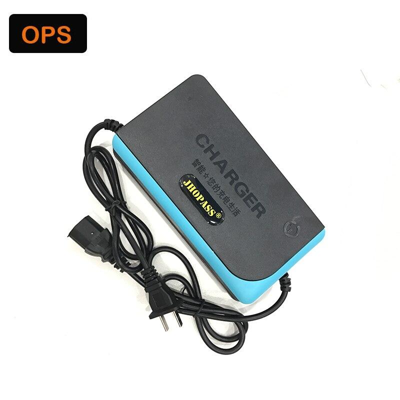 JHOPASS 48 V 12AH haute qualité smart E-Vélo plomb acide batterie chargeur pour 110-220 V entrée