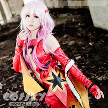 GC Guilty Crown Yuzuriha Inori women goldfish jumpsuits cosplay costume стоимость