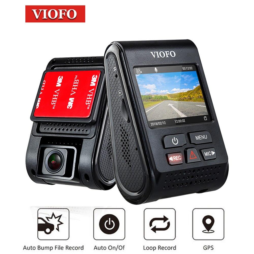 VIOFO A119 caméra de tableau de bord de voiture HD 2 K 1440 P 60fps enregistreur vidéo DVR Dashcam GPS CPL caméra de bord véhicule blackbox dvr