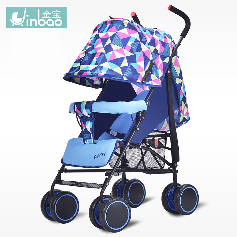 Baby stroller factory direct sell baby lightweight cart can be lying four wheels can be folded easy carry kidstravel with gifts cr80 crf125 150 250 450 230f falling short handle can be folded forging horn