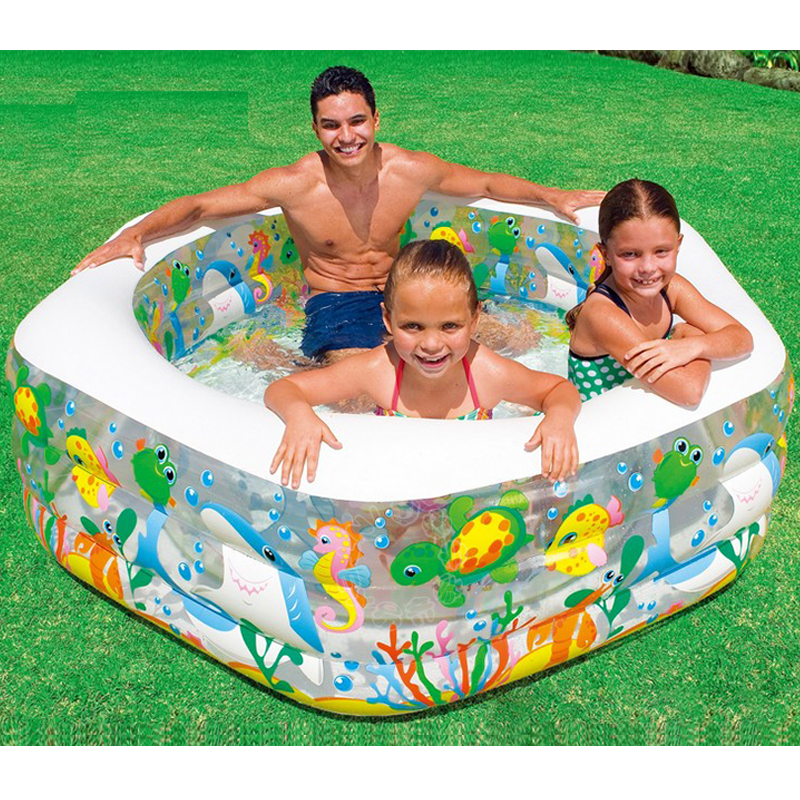 Large Size 191*61CM Inflatable Swimming Water Pool Children Adults Family Playground Piscina Bebe Zwembad multi function large size outdoor inflatable swimming water pool with slide home use playground piscina bebe zwembad