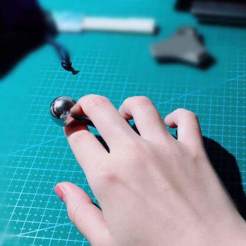 Ручной работы сплав кости Спиннер высокого класса EDC Игрушка антистресс СДВГ палец Спиннер рождественские подарки
