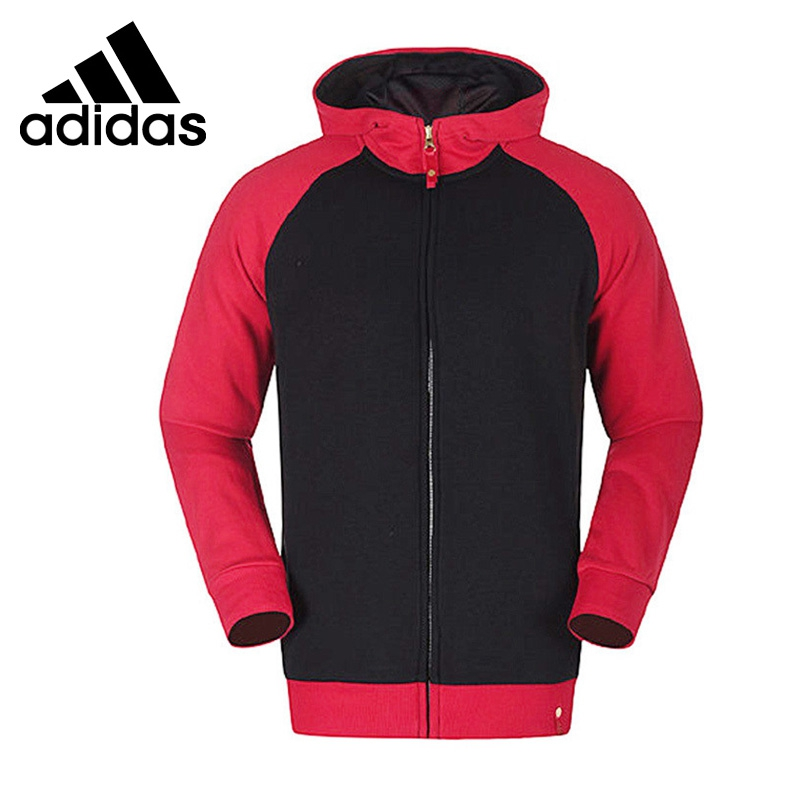 Original New Arrival 2017 Adidas  Men's  jacket Hooded  Sportswear original new arrival official adidas men s breathable jacket hooded sportswear