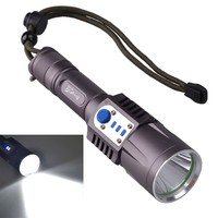 SingFire SF 349 CREE XML U2 1000LM 5 Mode Ultra Brightness LED w/USB Rechargeable Flashlight 1*18650 Battery