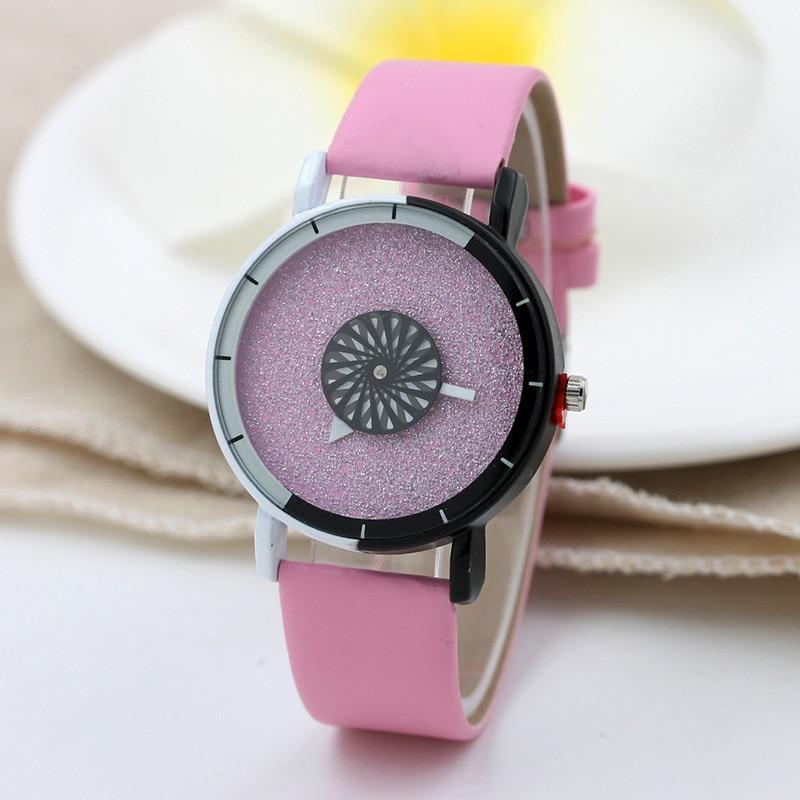 Couple Lover's Watches Women Men Luxury Rhinestone Casual PU Leather Analog Quartz Watch Watches Relogios Clock Hours kol saati