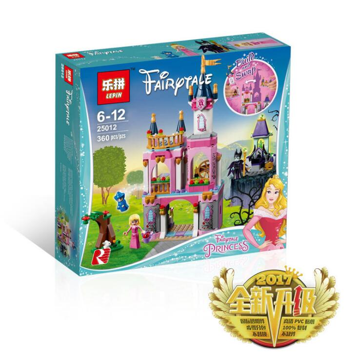 Lepin 25012 Friends series The Sleep Beauty`s Fairytale Castle Set Building Blocks Bricks Toys Girl Gift 41152 the tinker s girl