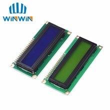 משלוח חינם 10pcs 1602 16x2 LCD התווים מודול תצוגת HD44780 בקר כחול/ירוק מסך blacklight LCD1602 LCD צג 1