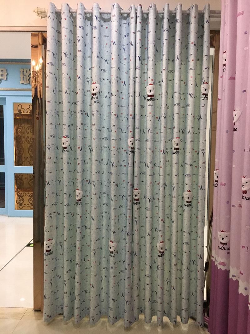 Blau Vorhang-kaufen Billigblau Vorhang Partien Aus China Blau ... Vorhange Wohnzimmer Blau