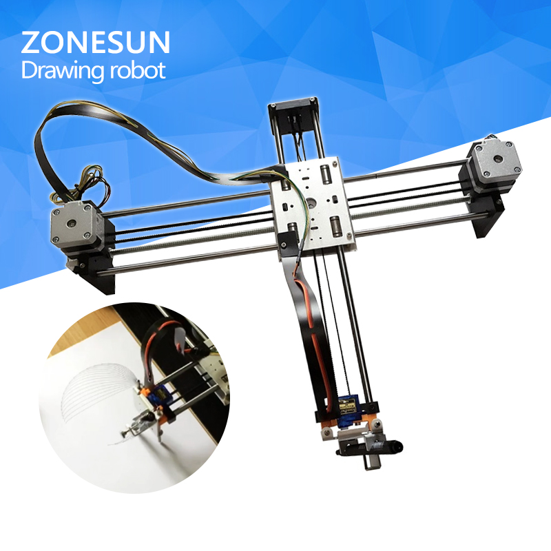 все цены на drawbot Idraw masters lettering robot XY-plotter drawing robot kit X Y axis writing robot support laser moduel free shipping