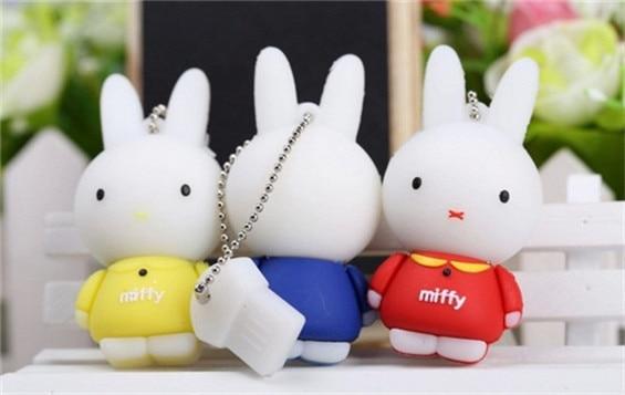 lovely Rabbit usb flash drive/creative pendrive/creative memory Stick/Disk/Thumb 2/4/8/16/32GB S528
