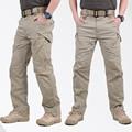 Calças Dos Homens Calças de Combate SWAT IX9 Tático Militar Do Exército Calças Dos Homens De Carga Calças Para Homens de Estilo Militar Calça Casual