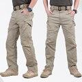 IX9 Тактические Брюки Combat Брюки SWAT Армия Военные Брюки Мужчины Брюки-Карго Для Мужчин в Стиле Милитари Случайные Штаны