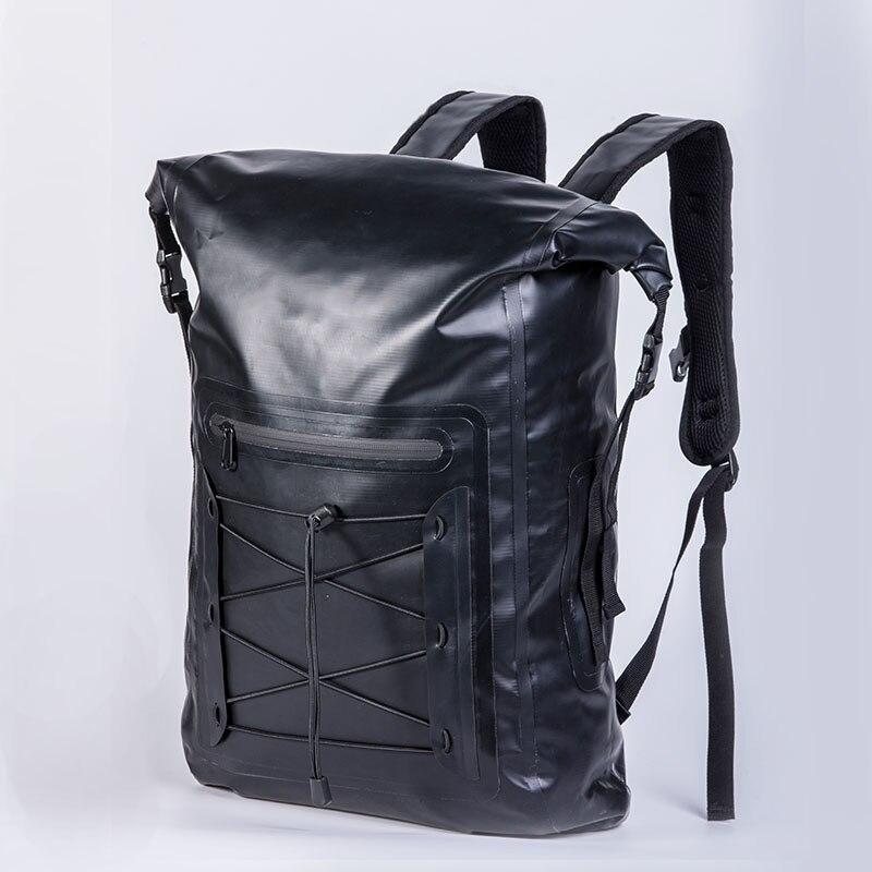 32L wodoodporna torba plecak PVC (platon) Super wodoodporna torba na sucho torba pływająca rzeka trekking torba na Camping na zewnątrz w Worki trekkingowe od Sport i rozrywka na AliExpress - 11.11_Double 11Singles' Day 1