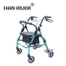 HANRIVER 2018The семейный складной детский ультра-светильник для старости, скутер, портативный дорожный самолет, старый ручной, алюминиевый сплав, автомобиль