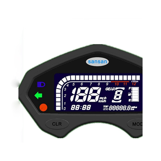 h98 car modification LCD instrument electronic digital speed mileage car dashboard assembly