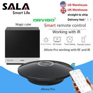 Image 3 - Orvibo EU Socket MagicCube Allone Pro systèmes dautomatisation de contrôle à distance intelligente WiFi IR Hub contrôleur par iOS Smartphone Android