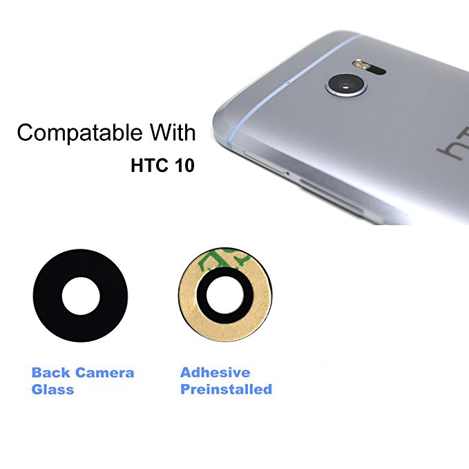 Back Rear Camera Really 100% Orignal True Glass Lens+Adhesive Tape For <font><b>HTC</b></font> One <font><b>M10</b></font> U11 U Ultra New In Stock + Tracking image