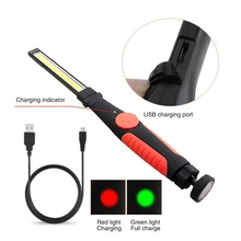 COB Handheld Movable Work Lights USB Charging Multi-functional and Folding Emergency Portable LED