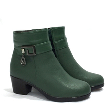 AIYUQI 2019 winter womens boots 100% natural genuine leather wool lining thick warm female snow fashion Booties  women